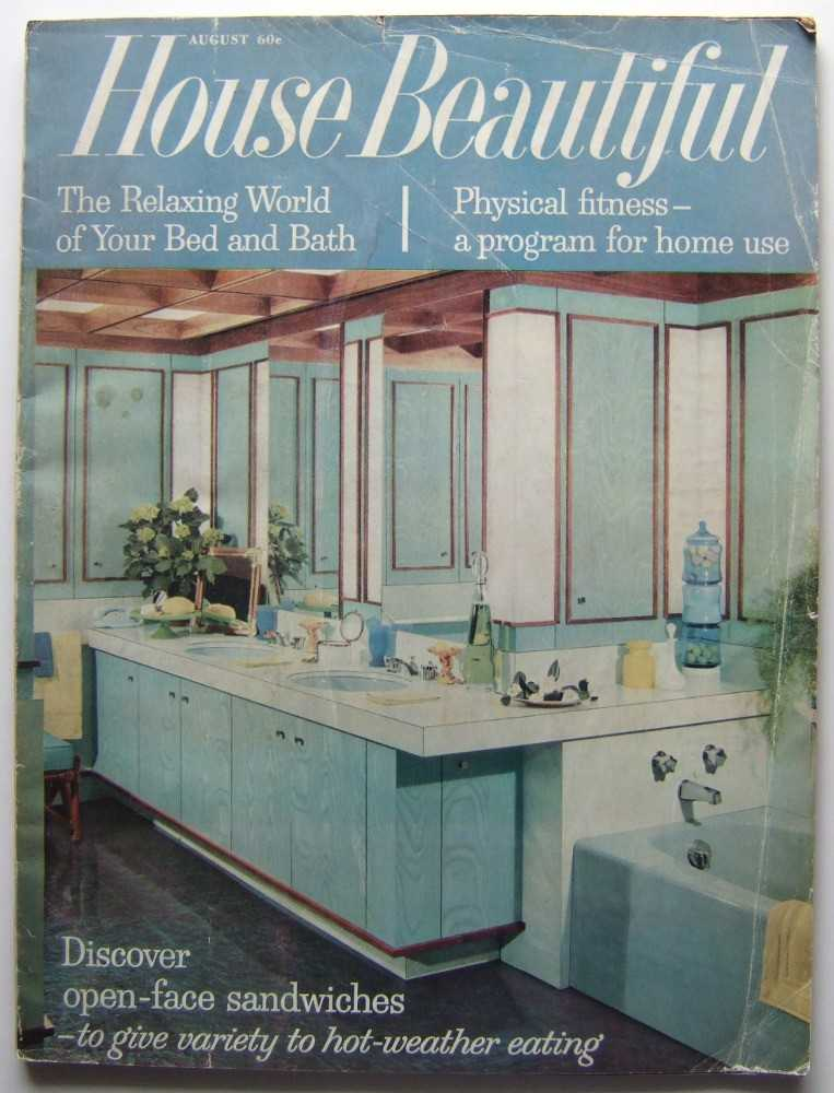 Image for House Beautiful (August, 1961 Vol. 103, #8)