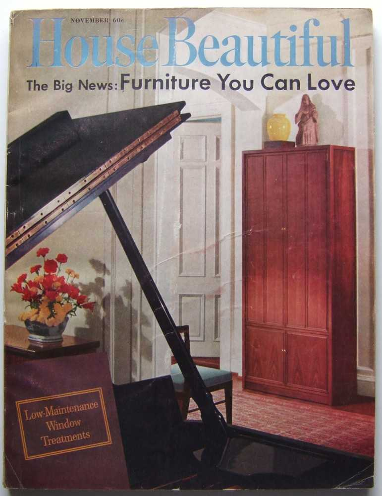 Image for House Beautiful (November, 1961 Vol. 103, #11)