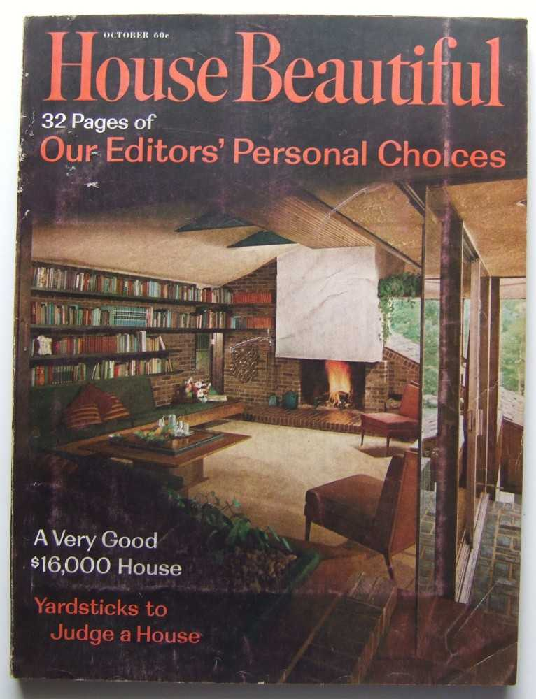 Image for House Beautiful (October, 1962 Vol. 104, #10)