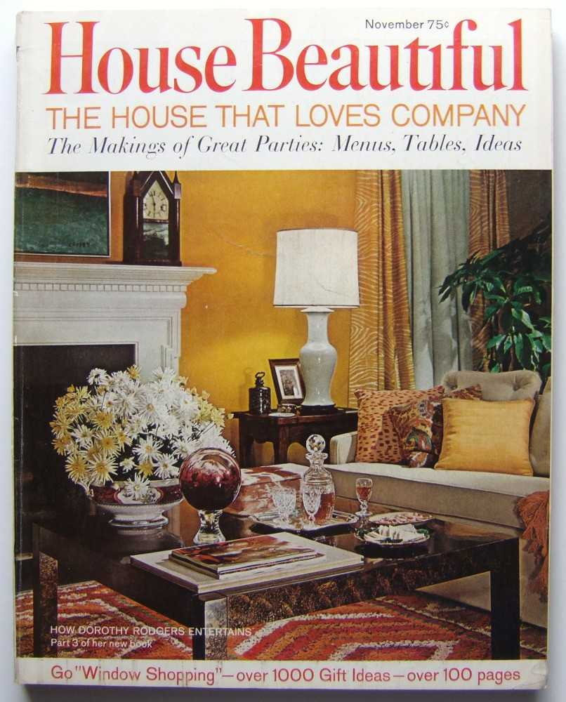 Image for House Beautiful (November, 1967 Vol. 109, #11)