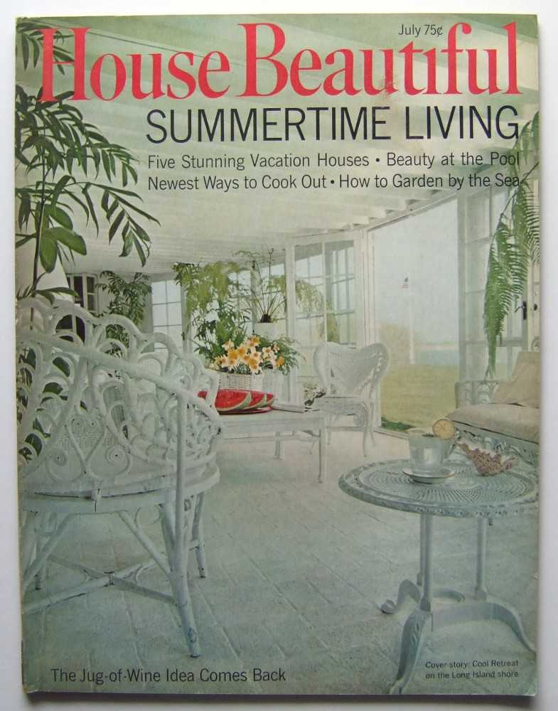 Image for House Beautiful (July, 1968 Vol. 110, #7)