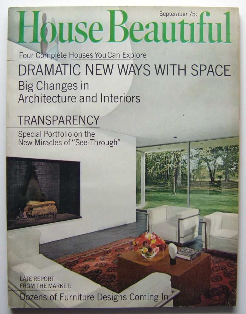 Image for House Beautiful (September, 1968 Vol. 110, #9)