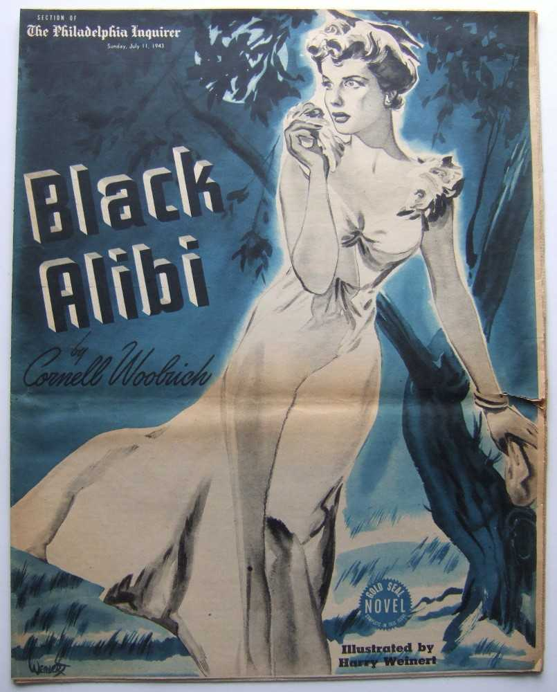 Image for Black Alibi (Gold Seal Novel, presented by the Philadelphia Inquirer, Sunday, July 11th, 1943)