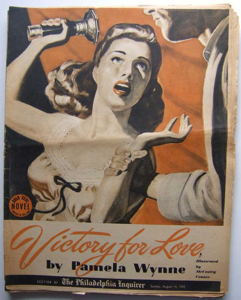 Image for Victory For Love (Gold Seal Novel, presented by the Philadelphia Inquirer, Sunday, August 15th, 1943)