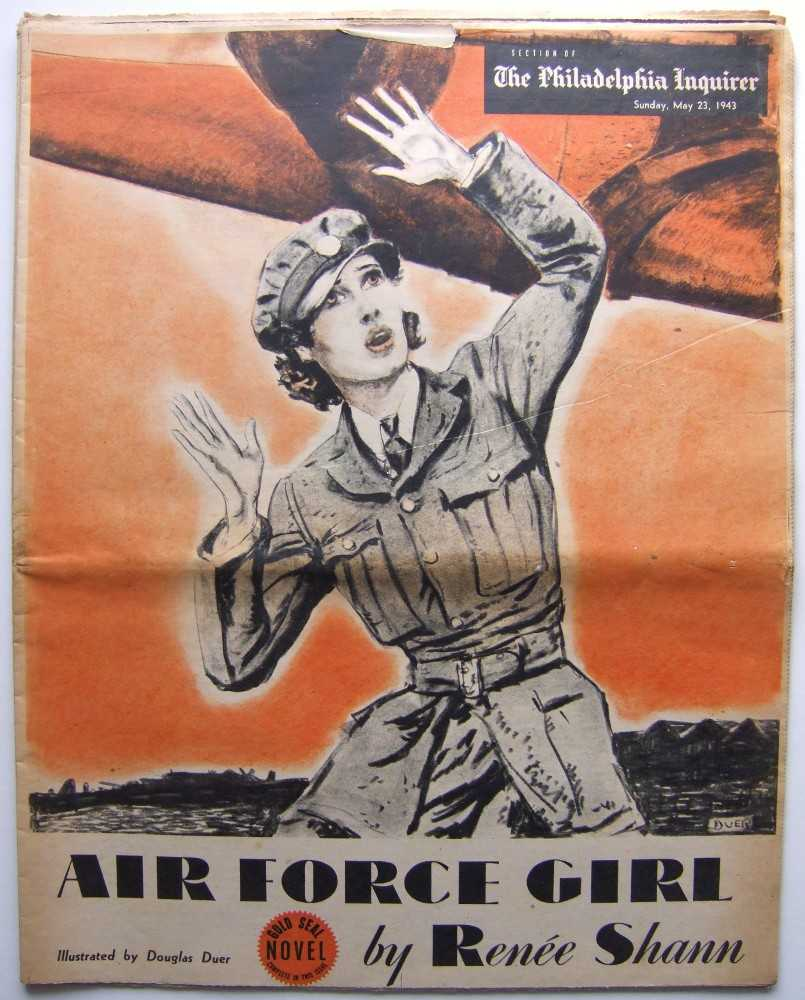 Image for Air Force Girl (Gold Seal Novel, presented by the Philadelphia Inquirer, Sunday, May 23rd, 1943)