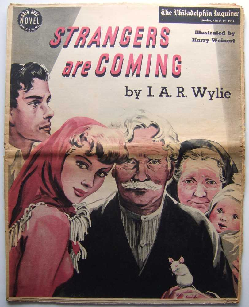Image for Strangers Are Coming (Gold Seal Novel, presented by the Philadelphia Inquirer, Sunday, March 14th, 1943)