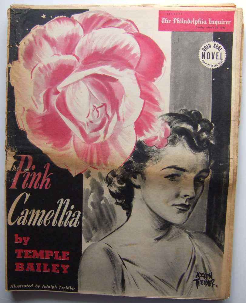 Image for Pink Camellia (Gold Seal Novel, presented by the Philadelphia Inquirer, Sunday, March 28th, 1943)
