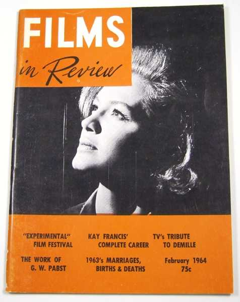 Image for Films in Review (February, 1964)