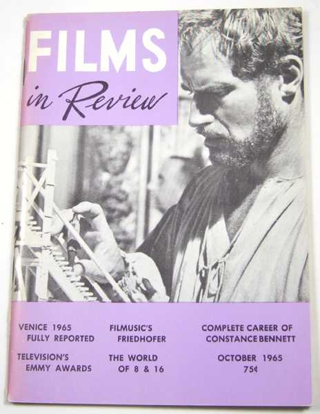 Image for Films in Review (October, 1965)