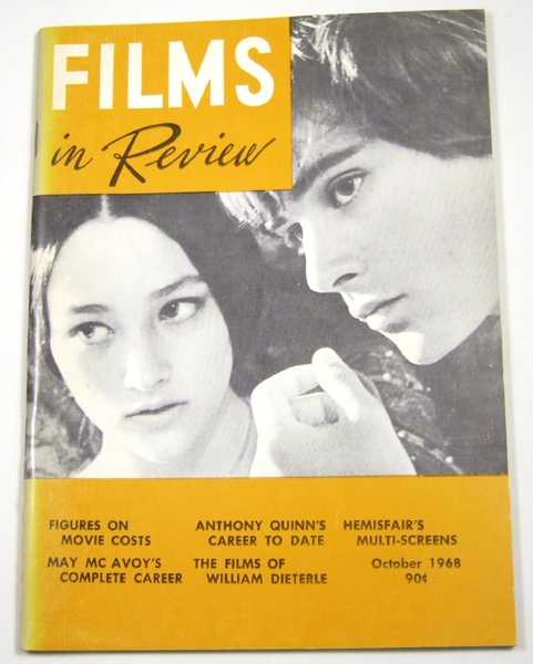 Image for Films in Review (October, 1968)