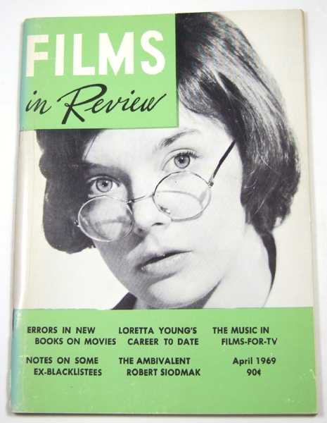 Image for Films in Review (April, 1969)