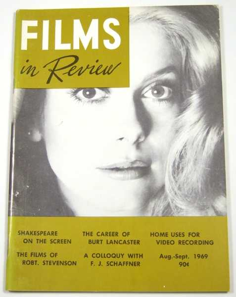 Image for Films in Review (August-September, 1969)