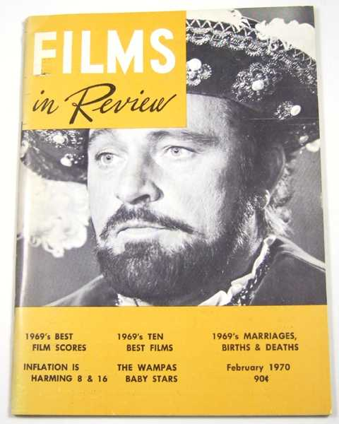 Image for Films in Review (February, 1970)