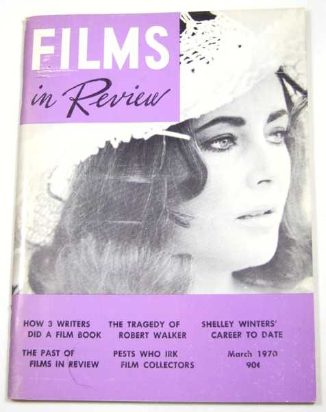 Image for Films in Review (March, 1970)