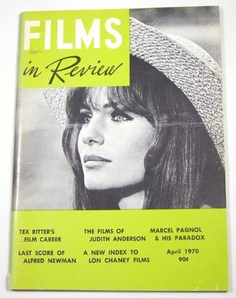 Image for Films in Review (April, 1970)