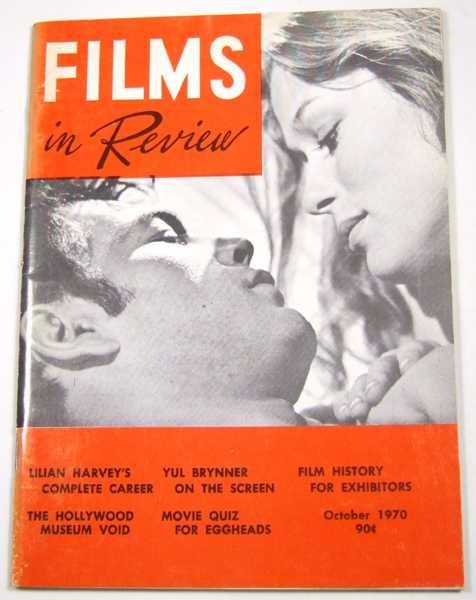 Image for Films in Review (October, 1970)