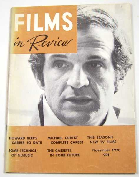 Image for Films in Review (November, 1970)