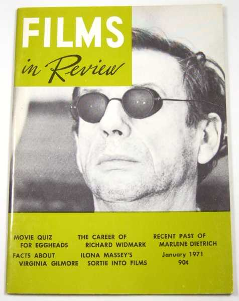 Image for Films in Review (January, 1971)