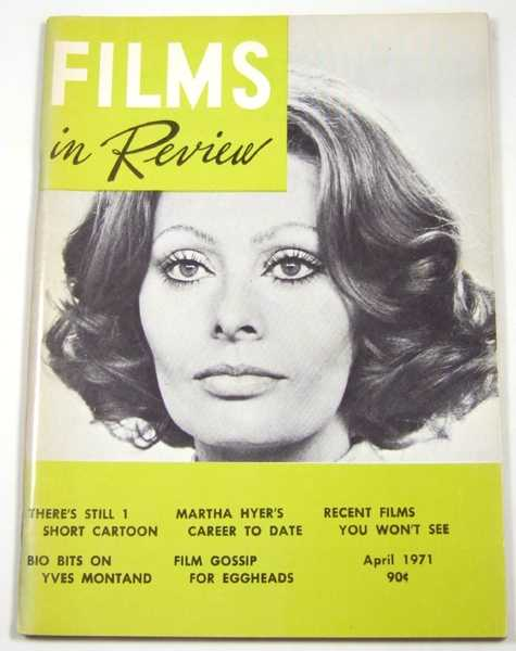 Image for Films in Review (April, 1971)
