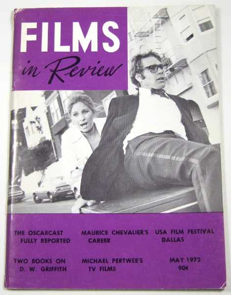 Image for Films in Review (May, 1972)