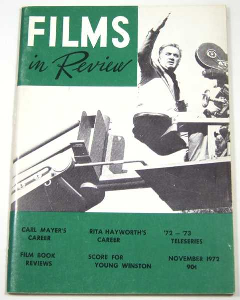 Image for Films in Review (November, 1972)