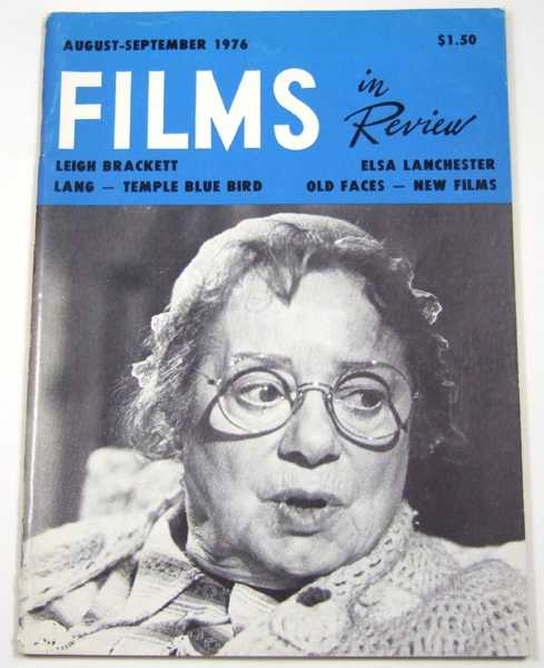 Image for Films in Review (August-September, 1976)