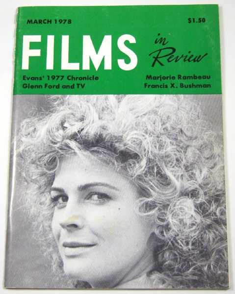 Image for Films in Review (March, 1978)