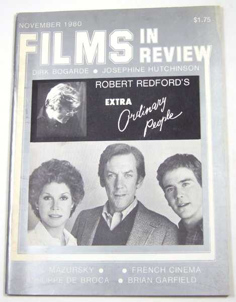 Image for Films in Review (November, 1980)