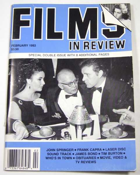 Image for Films in Review (February, 1993)