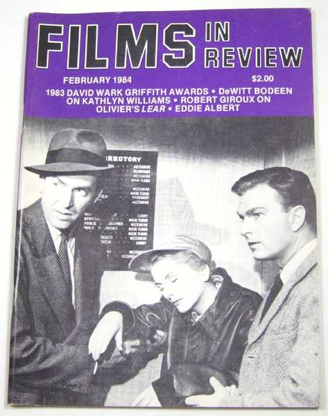 Image for Films in Review (February, 1984)