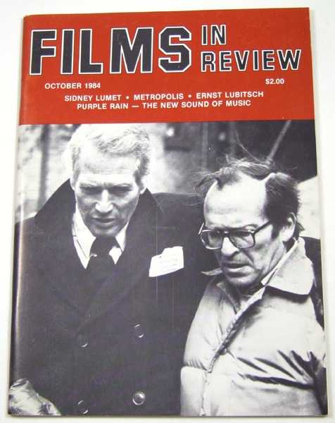 Image for Films in Review (October, 1984)