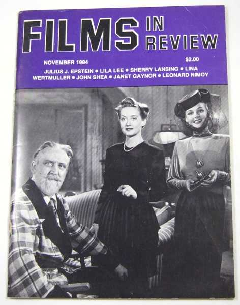 Image for Films in Review (November, 1984)