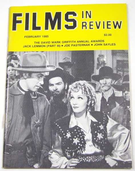 Image for Films in Review (February, 1985)