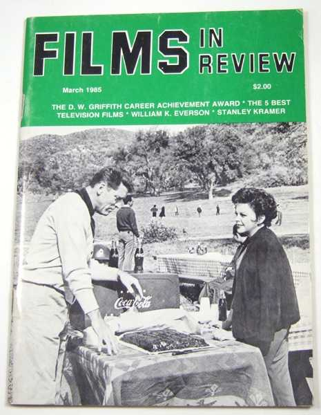 Image for Films in Review (March, 1985)
