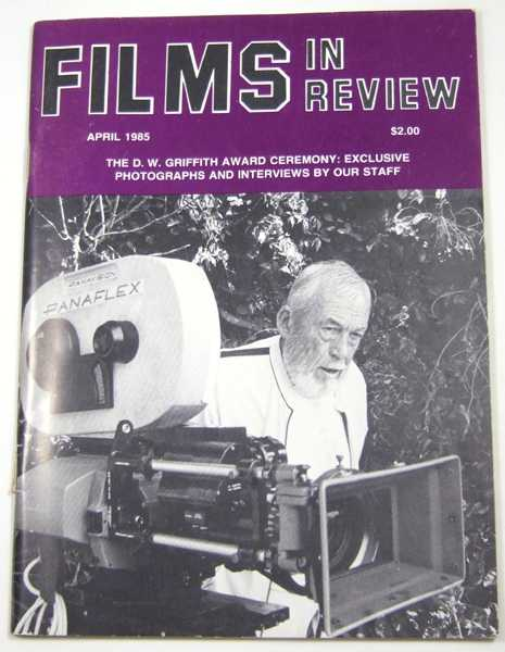 Image for Films in Review (April, 1985)