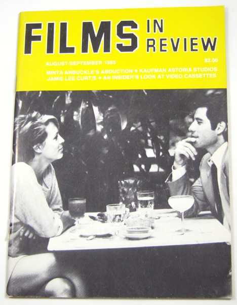 Image for Films in Review (August-September, 1985)