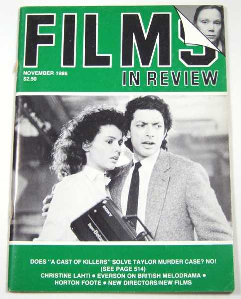 Image for Films in Review (November, 1986)