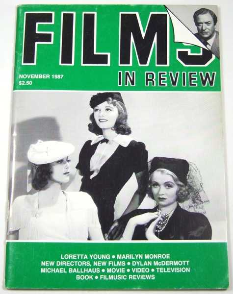 Image for Films in Review (November, 1987)