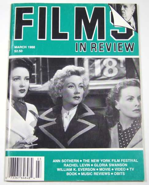 Image for Films in Review (March, 1988)