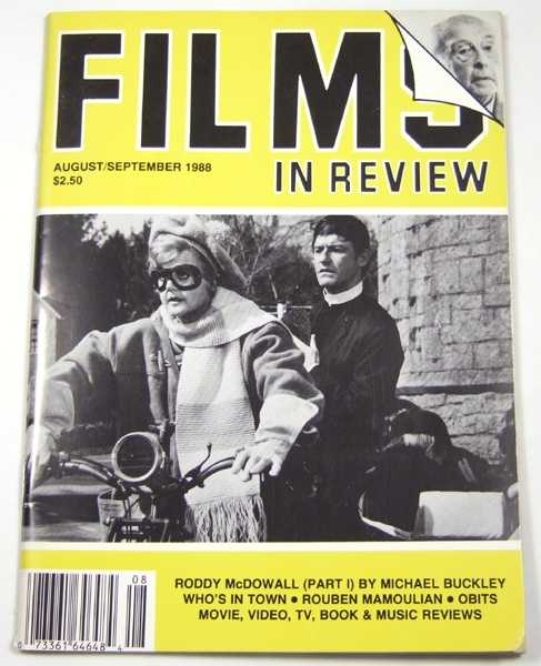 Image for Films in Review (August-September, 1988)