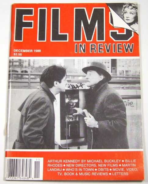 Image for Films in Review (December, 1988)