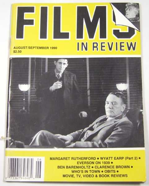 Image for Films in Review (August-September, 1990)