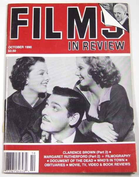 Image for Films in Review (October, 1990)