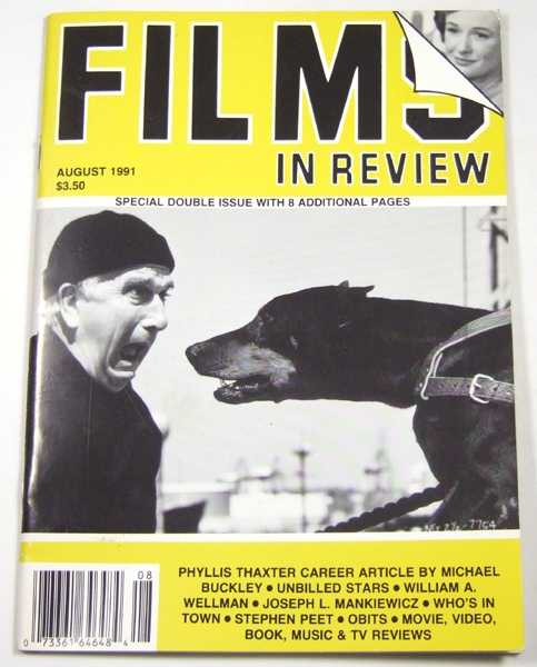 Image for Films in Review (August, 1991)
