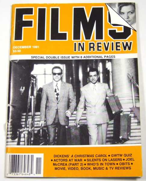 Image for Films in Review (December, 1991)