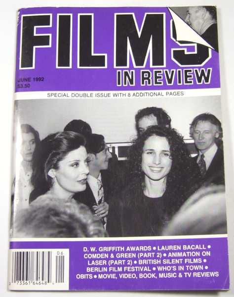 Image for Films in Review (June, 1992)
