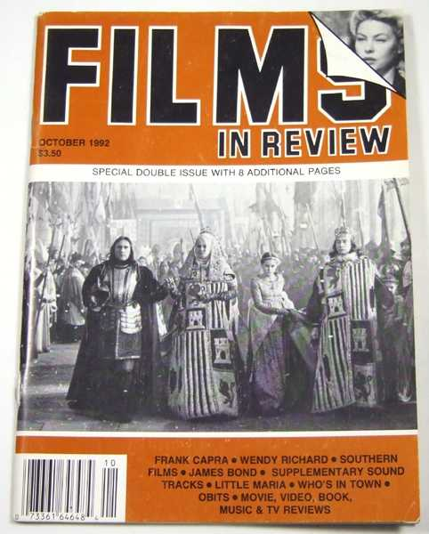 Image for Films in Review (October, 1992)