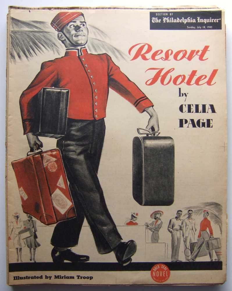 Image for Resort Hotel (Gold Seal Novel, presented by the Philadelphia Inquirer, Sunday, July 18th, 1943)