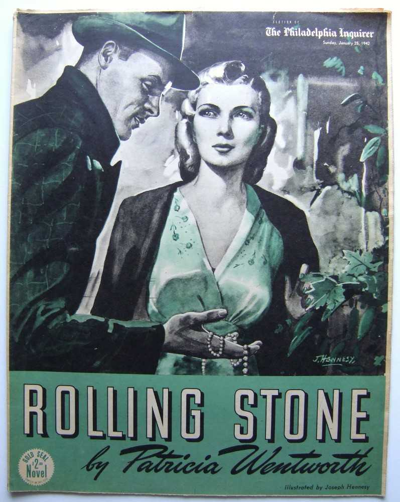Image for Rolling Stone (Gold Seal Novel, presented by the Philadelphia Inquirer, Sunday, January 25, 1942)