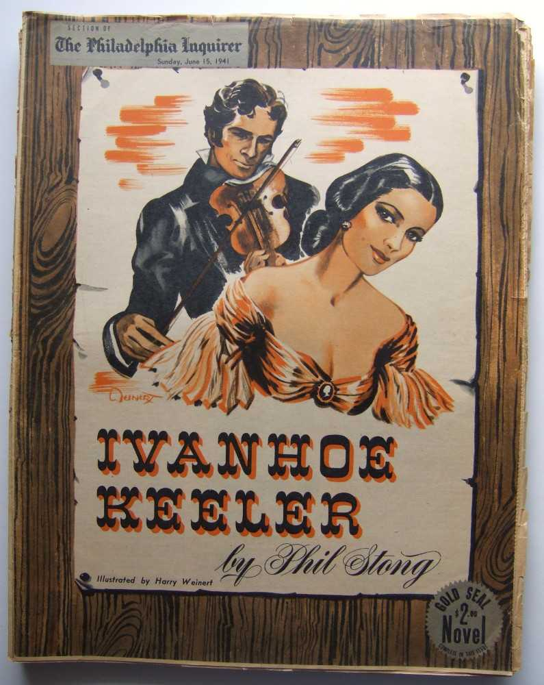 Image for Ivanhoe Keeler (Gold Seal Novel, presented by the Philadelphia Inquirer, Sunday, June 15, 1941)